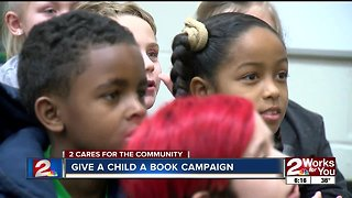 2 Works For You gives 1,000 books to Green Country kids