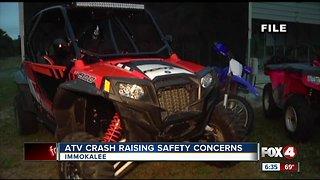 ATV crash that injured boy raises safety concerns