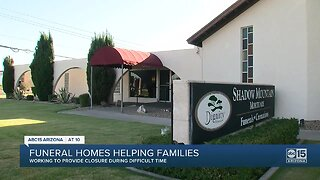 Valley funeral homes try to provide closure despite changes
