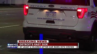 Hit-and-run investigation on Detroit's east side