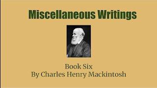Miscellaneous writings of CHM Book 6 Landmarks and Stumblingblocks Audio Book