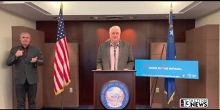 Nevada Gov. Sisolak bans all gatherings over 10 people