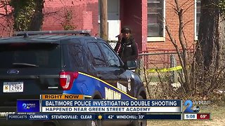 Baltimore Police Investigating Double Shooting Near Green Street Academy