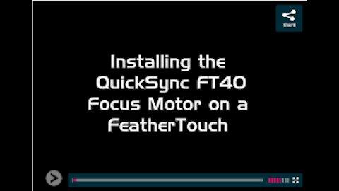 19773- Install QuickSync FT40 motor