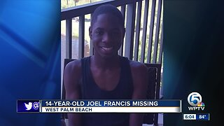 Teen missing in West Palm Beach