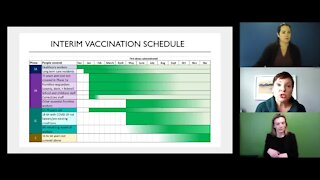 Michigan health officials work to improve vaccine rollout