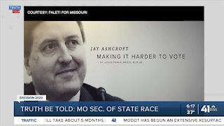 Truth be Told: MO Secretary of State race
