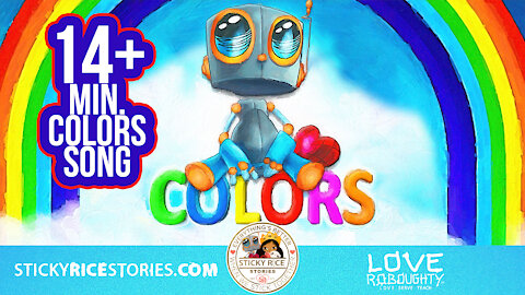 Learn the COLORS with your favorite robot Love Roboughty!