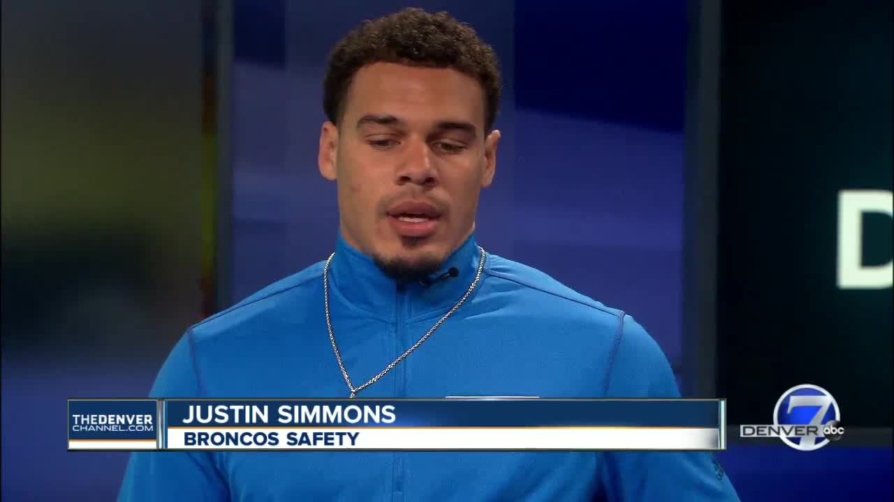 Justin Simmons: staying healthy on & off the field