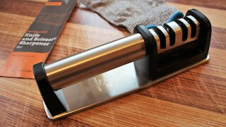 Priority Chef Knife Sharpener Review   It's Only Food w/ Chef John Politte