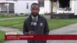 Girl dies in house fire in Detroit