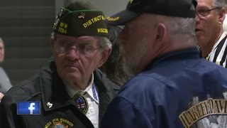 Honor Flight takes off from local airport
