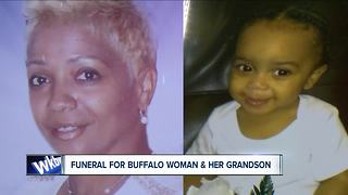 Funeral for grandmother & grandson shooting victims