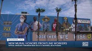 Phoenix mural honors frontline workers