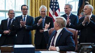 President Trump signs another coronavirus stimulus bill