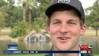 23ABC Sports: Blake Bourelle prepares to make pro debut in Bakersfield Open