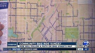 Community bike ride Sunday