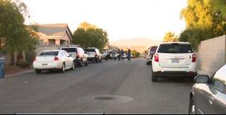 Las Vegas police investigate accidental shooting involving children