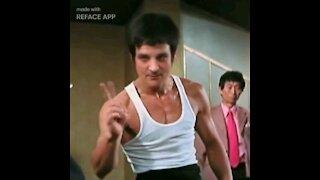 Ironmanduck becomes Bruce lee