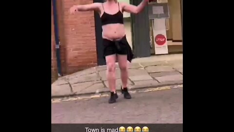 Hilarious Chesterfield Town Centre DJ Set