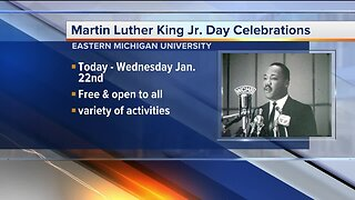 Eastern Michigan University to host Martin Luther King Jr Day celebration
