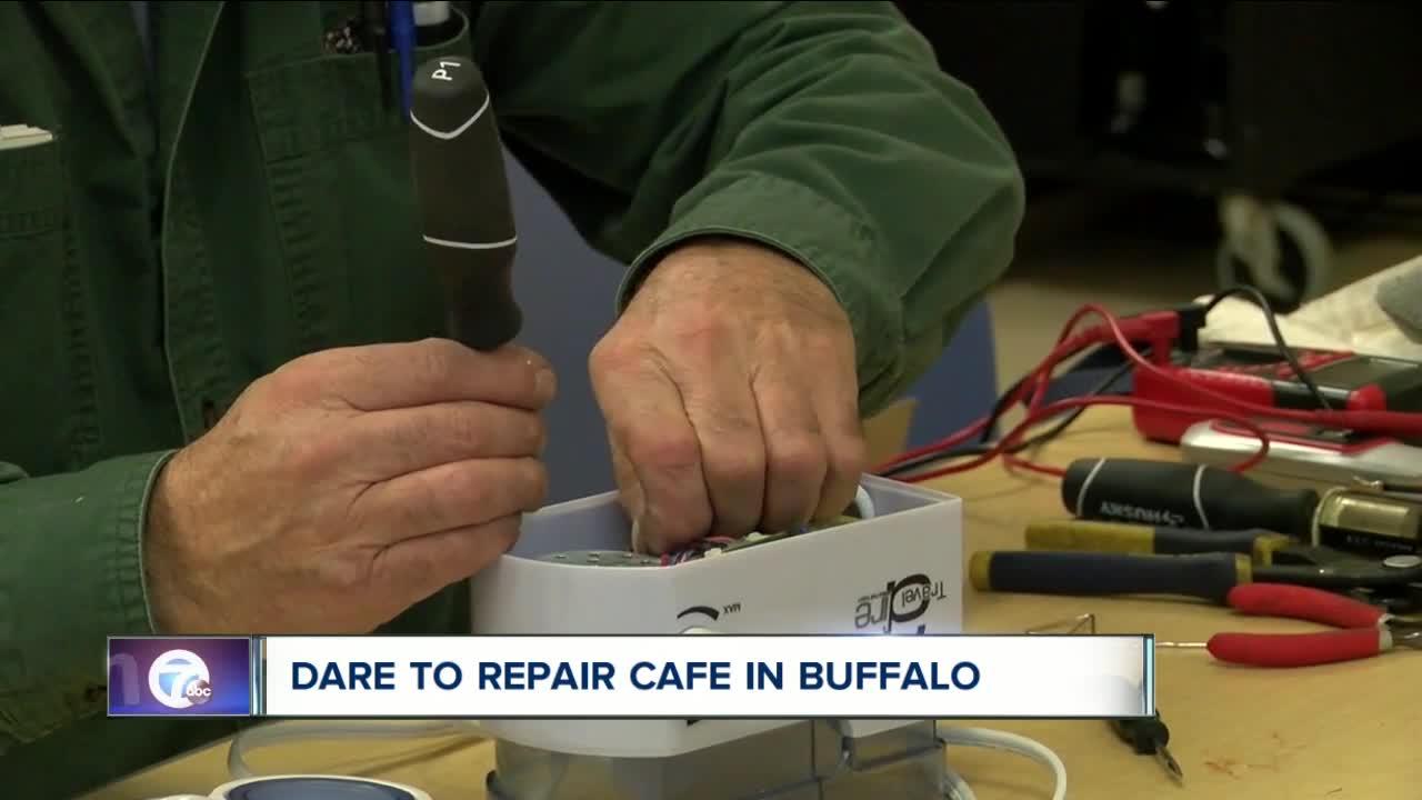 """Dare to Repair"" Cafe in Buffalo"