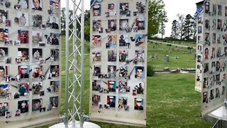DIGITAL EXCLUSIVE: Display honors fallen soldiers during Memorial Day Weekend