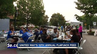 HAPPENING TODAY: United Way's Annual Flapjack Feed
