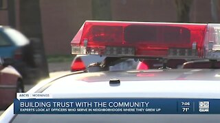 Police departments look to build trust with the community