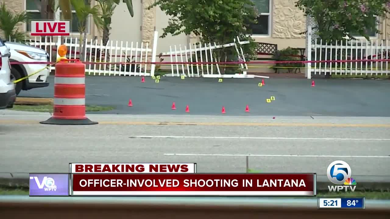 Officer-involved shooting in Lantana