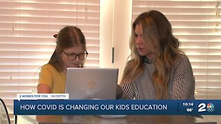 How COVID is changing our kids education