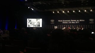 WEF Africa 2017: Filmmaker Singh pays tribute to late Kathrada (GEQ)