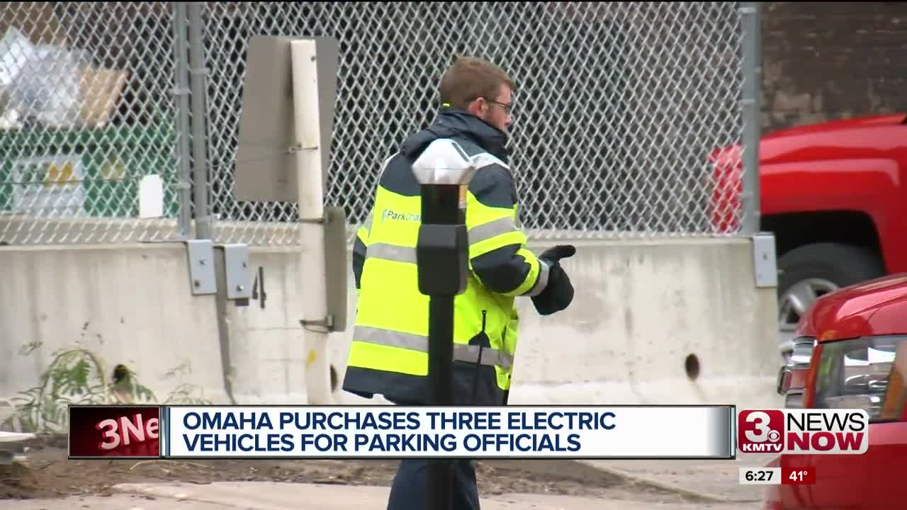 Omaha purchases three electric vehicles for parking officials