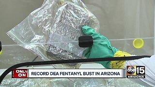 DEA makes biggest fentanyl bust in Arizona history