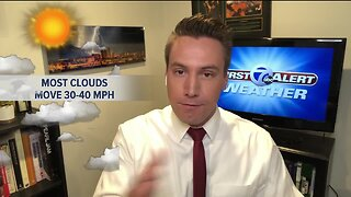 Kevin's Classroom: How fast do clouds move?