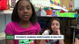 Ken-Ton School district teaching students to use mindfulness