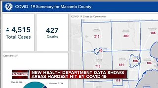 Which metro Detroit communities are hardest hit by COVID-19?