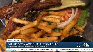 We're Open Arizona: Breyer Law helps restaurants like Lucky Lou's