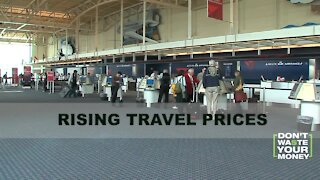 Travel Prices Rising in 2021