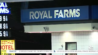 Shooting at Royal Farms in Rosedale
