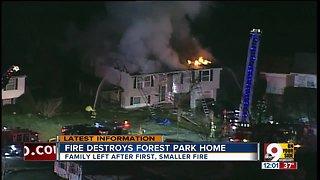 Fire destroys Forest Park home