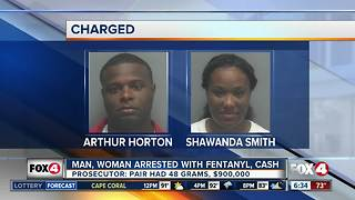Fort Myers couple charged with drug trafficking