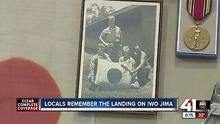 Locals remember the landing on Iwo Jima