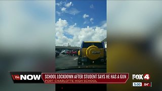 Charlotte County school placed on lockdown