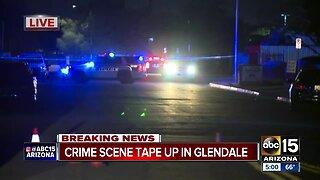 Crime scene up in Glendale