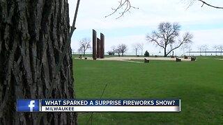 Fireworks show marks a Milwaukee marriage proposal