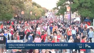 OSU homecoming festivities canceled