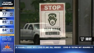 Local counties reminding people mask mandates are still in effect, even under Phase 3 of reopening