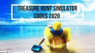 Treasure Hunt Simulator Codes December 2020
