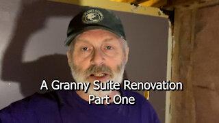 A Granny Suite Renovation Part One